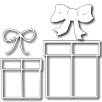 Frantic Stamper Cutting Die - Gifts and Bows (set of 4 dies)
