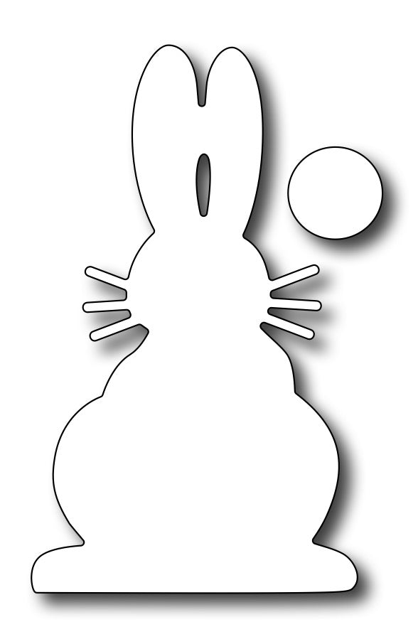 Frantic Stamper Cutting Die - Bunny Back