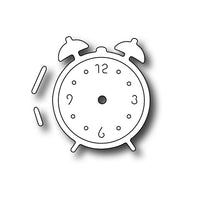 Frantic Stamper Cutting Die - Small Retro Alarm Clock
