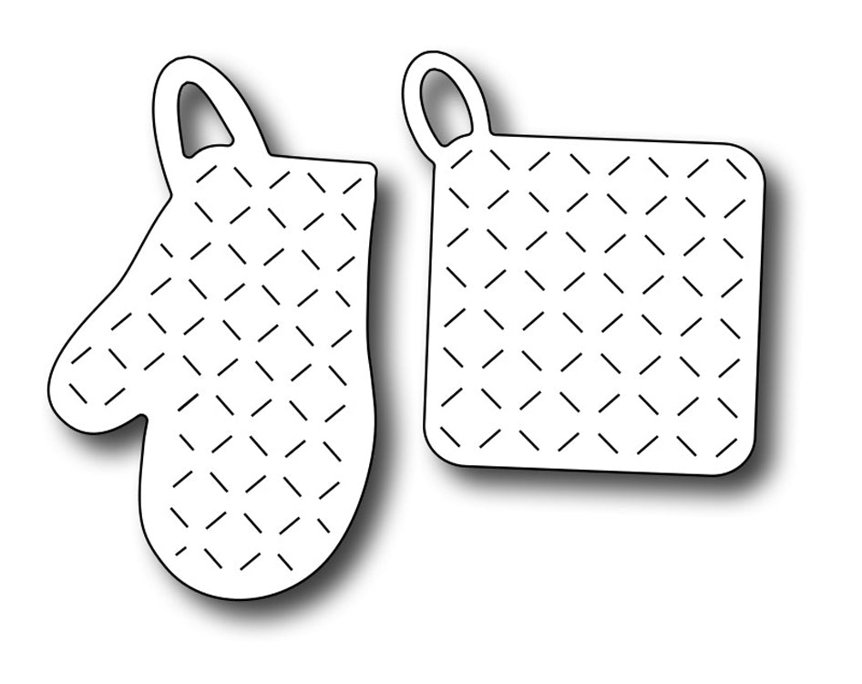 Frantic Stamper Cutting Die - Oven Mitt & Pot Holder