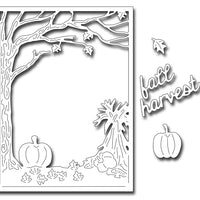 Frantic Stamper Cutting Die - Fall Harvest Panel