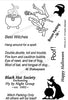 Frantic Stamper Clear Stamp - Set - Best Witches