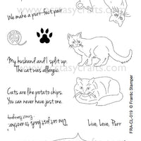 Frantic Stamper Clear Stamp - Set - Cat's Meow