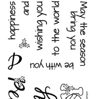 Frantic Stamper Clear Stamp - Set - Joy and Peace