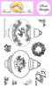 Frantic Stamper Clear Stamp - Set - Ivy Bubble Ornament