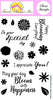 Frantic Stamper Clear Stamp - Set - Floral Blooms