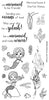 Frantic Stamper Clear Stamp - Set - Under the Sea Mermaid Sentiments