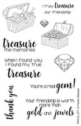 Frantic Stamper Clear Stamp - Set - You're A Treasure