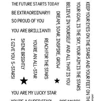 Frantic Stamper Clear Stamp - Set - Reach for the Stars