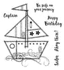 Woodware Clear Stamps - Sailboat