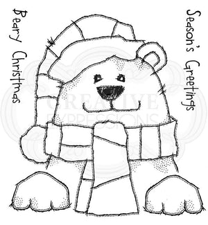 Woodware Clear Stamps - Beary Christmas