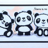 Woodware Clear Stamps - Pandamonium