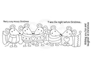 Woodware Clear Stamps - Mousy Christmas