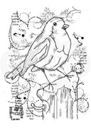 Woodware Clear Stamps - Frosty Robin