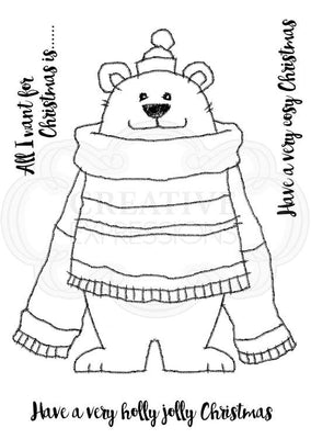 Woodware Clear Stamps - Polar Bear Pete