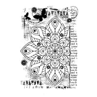 Woodware Clear Stamps - Ancient Mandala