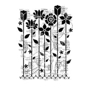 Woodware Clear Stamps - Dreamy Garden