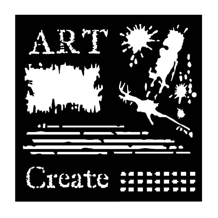 Woodware Stencils -  Art
