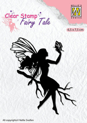 Nellie's Choice - Clear Stamp Fairy Tale - 9
