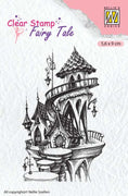 Nellie's Choice Clear Stamp Fairy Tale - Summer Castle