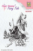 Nellie's Choice Clear Stamp Fairy Tale -  Winter Castle