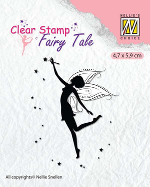 Nellie's Choice Clear Stamp Fairy Tale - 12
