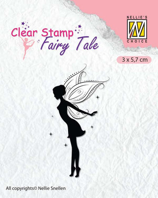 Nellie's Choice Clear Stamp Fairy Tale - 14