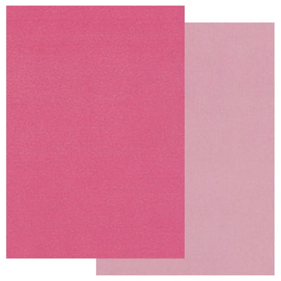Groovi Coloured Parchment 20 x A5 Two Tone - Pink, Light Pink