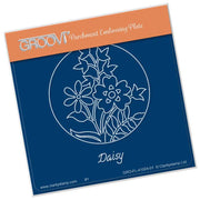 Groovi Plate - Daisy & Friends Round Round A6 Sq