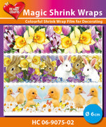 Hearty Crafts Magic Shrink Wraps. Easter (6cm)