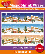 Hearty Crafts Magic Shrink Wraps. Winter (10cm)