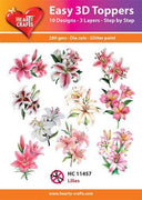Hearty Crafts Easy 3D Toppers - Lillies