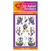 Hearty Crafts Hearty Relief Stickers - Easter A5