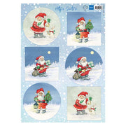 Marianne Design Cutting Sheets Hetty's Santas