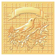 Hobby Solution 3D Embossing Folder Bird