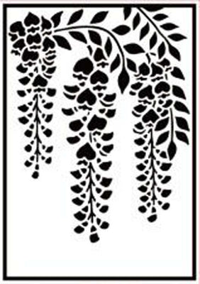Hobby Solution Embossing Folder - Wisteria