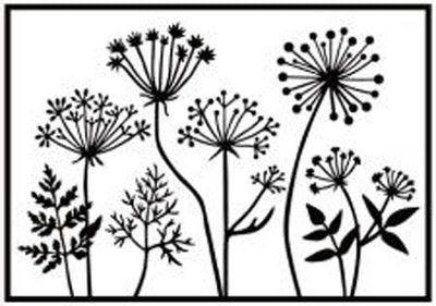 Hobby Solution Embossing Folder - Dandelions