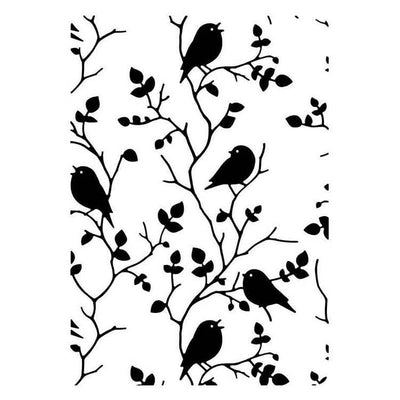 Hobby Solution Embossing Folder Tree with Birds