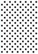 Hobby Solution Embossing Folder Christmas - Background Stars