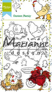 Marianne Design Clear Stamps Hetty's Chicken Family