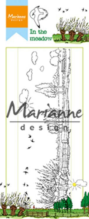 Marianne Design Clear Stamps Hetty's in the Meadow