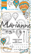 Marianne Design Stamps Hetty's Border: Sky is the Limit
