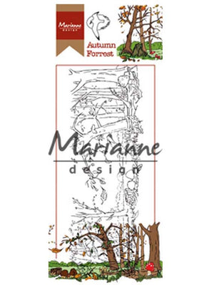 Marianne Design Stamps Hetty's Border: Autumn Forest