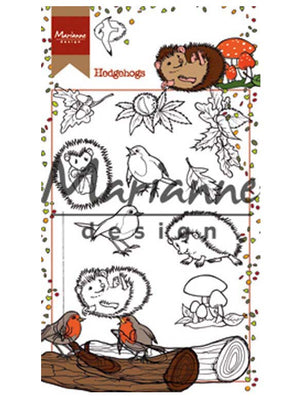 Marianne Design Stamps Hetty's Hedgehogs