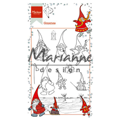 Marianne Design Stamps Hetty's Gnomes