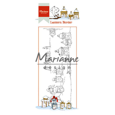 Marianne Design Stamps Hetty's Lantern Border