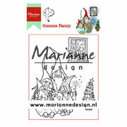 Marianne Design Stamps Hetty's Gnomes Family