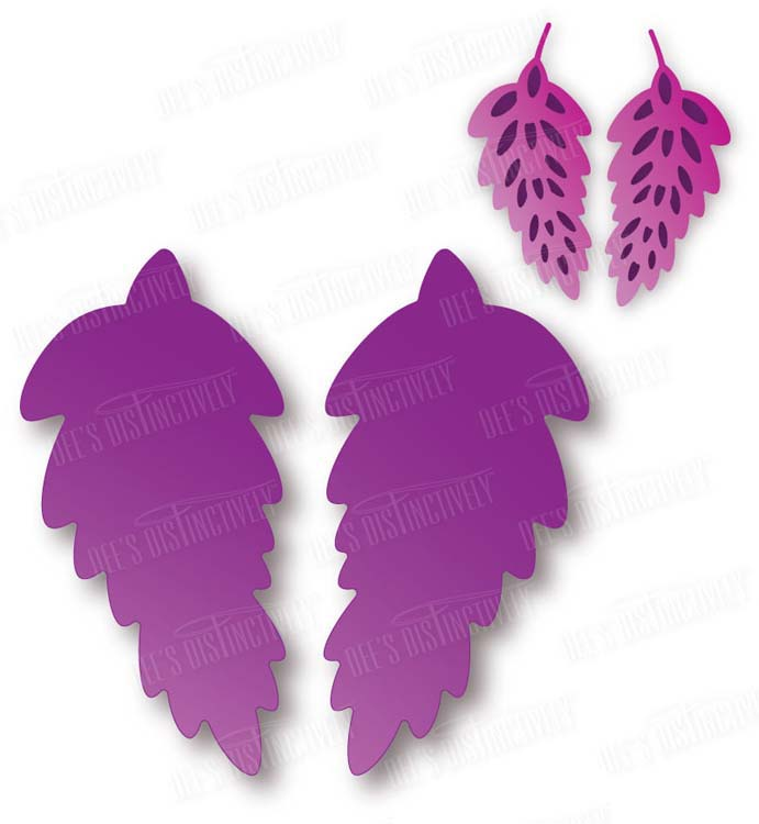 Dee's Distinctively Dies - Stylized Floral Silhouette