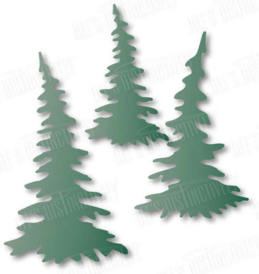 Dee's Distinctively Dies - Pine Tree Set
