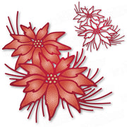 Dee's Distinctively Dies - Festive Poinsettia